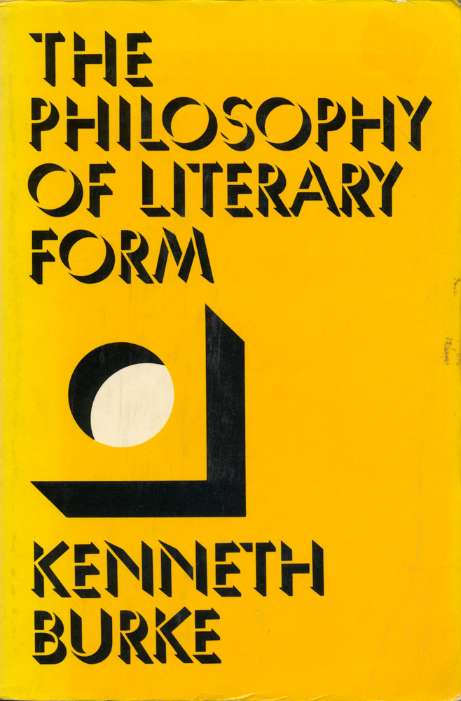 The Philosophy of Literary Form