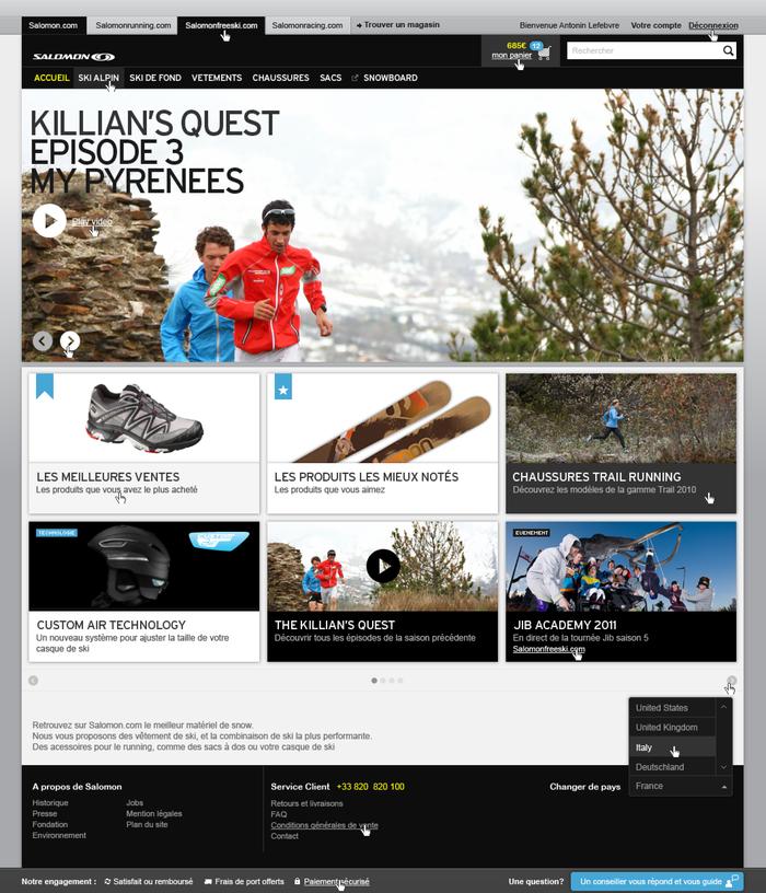 Salomon Website 1