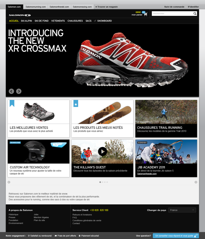 Salomon Website 2