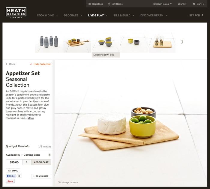 Heath Ceramics Website 5
