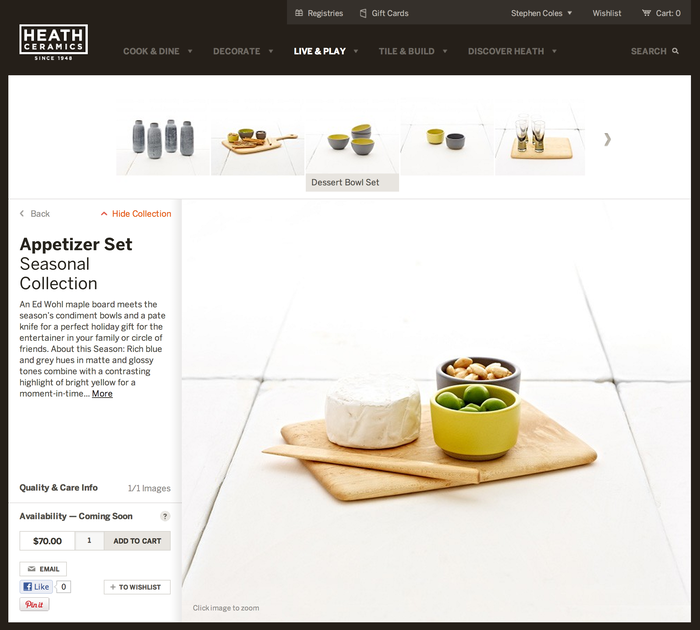 Heath Ceramics Website 5