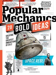 <cite>Popular Mechanics</cite> Nov, 2012