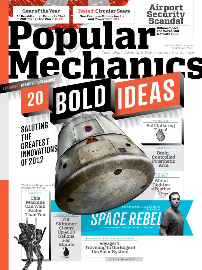 Popular Mechanics Nov, 2012