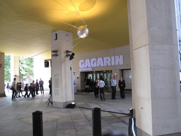 Gagarin in Britain exhibition 4
