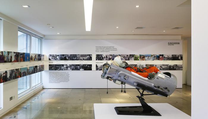 Gagarin in Britain exhibition 6