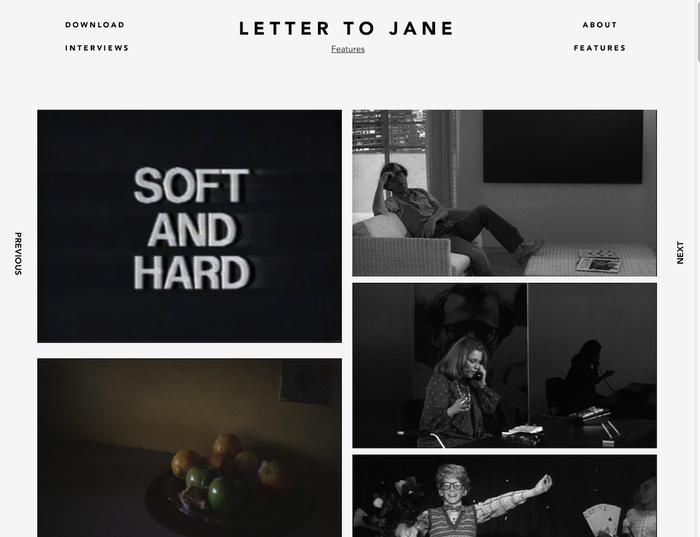 Letter to Jane Website 1