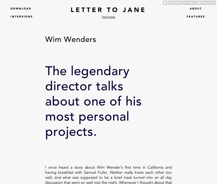 Letter to Jane Website 2