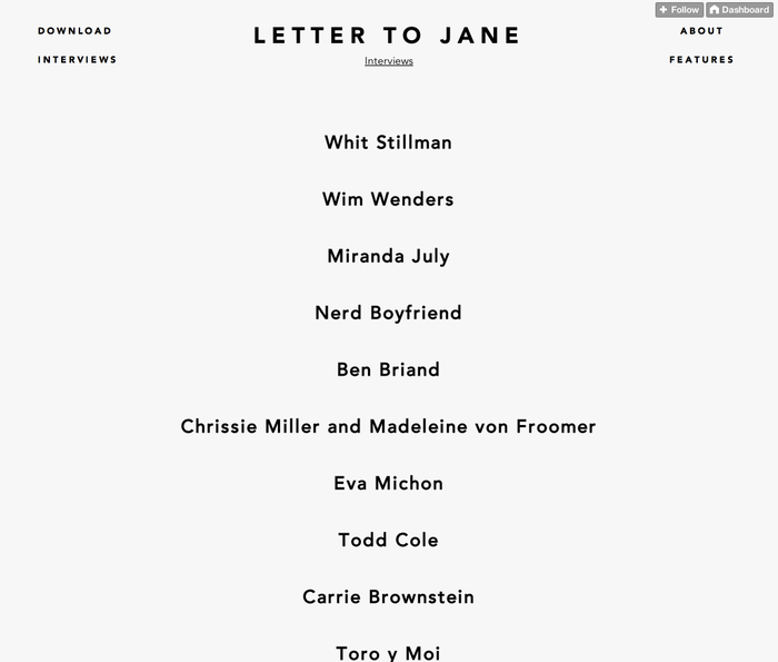 Letter to Jane Website 4