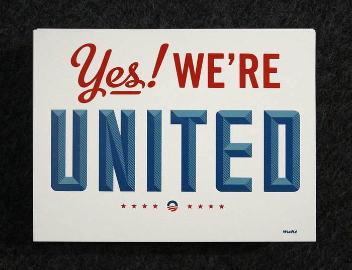 Yes! We're United 2