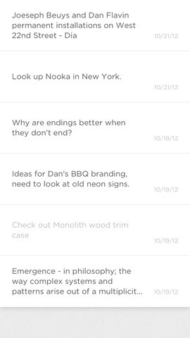 Squarespace Note App 1