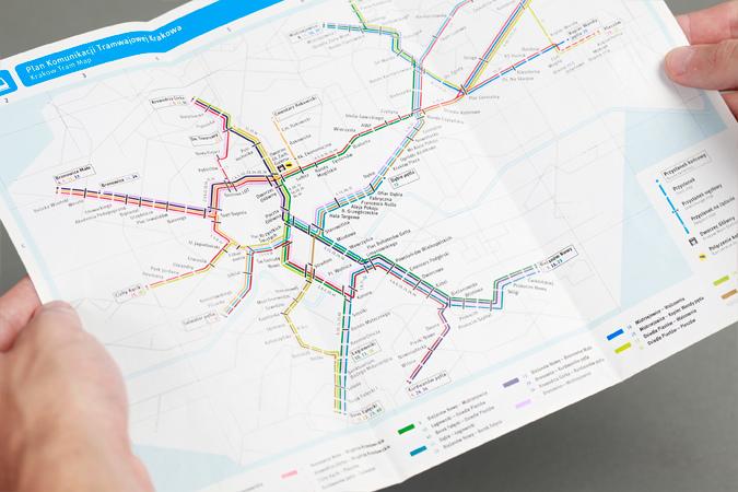 Krakow Transport Map 2