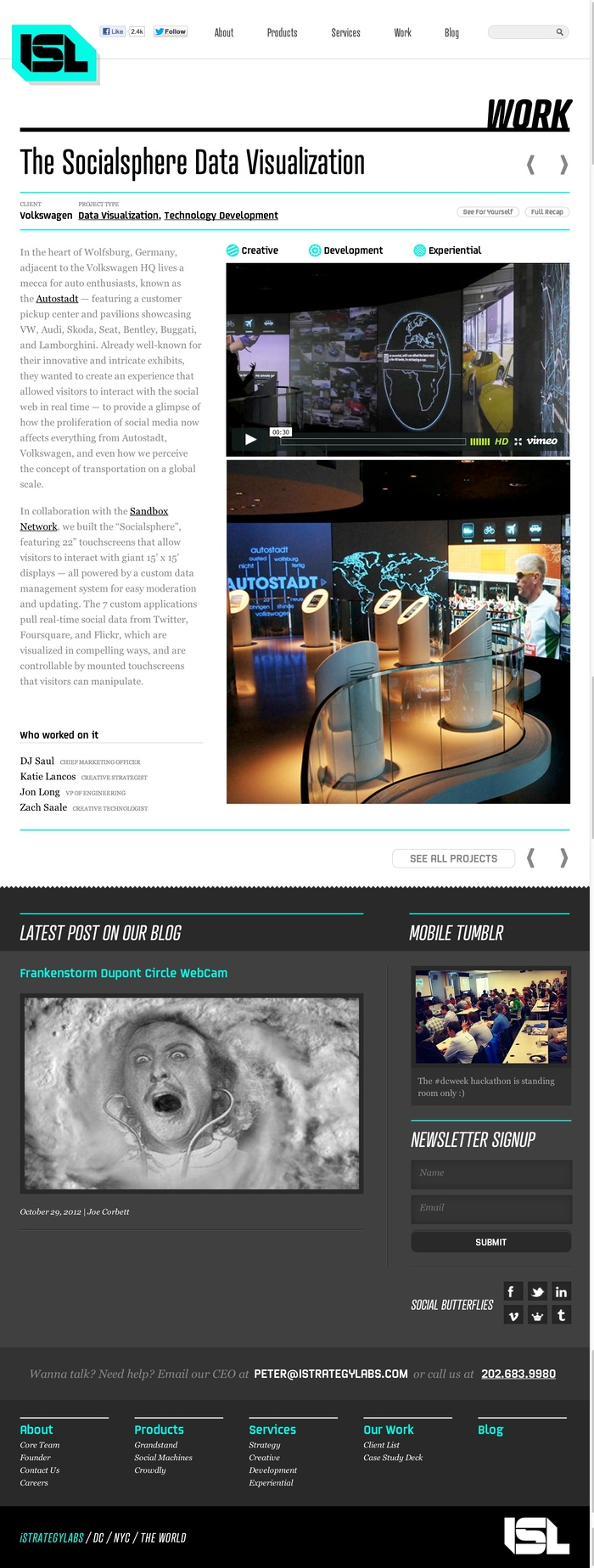 iStrategyLabs website 2