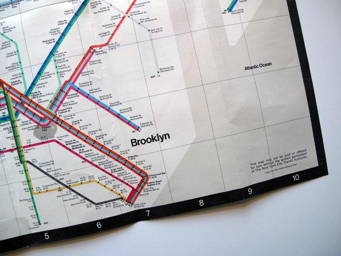 New York Subway Guide, 1976 1