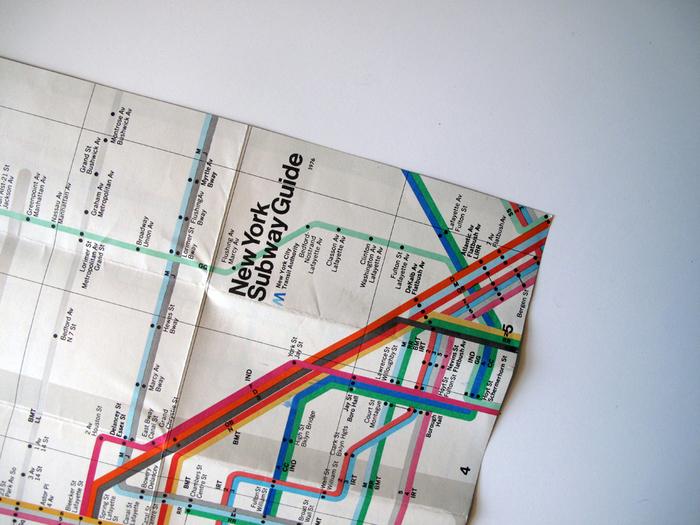 New York Subway Guide, 1976 2