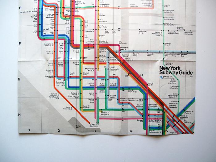 New York Subway Guide, 1976 3