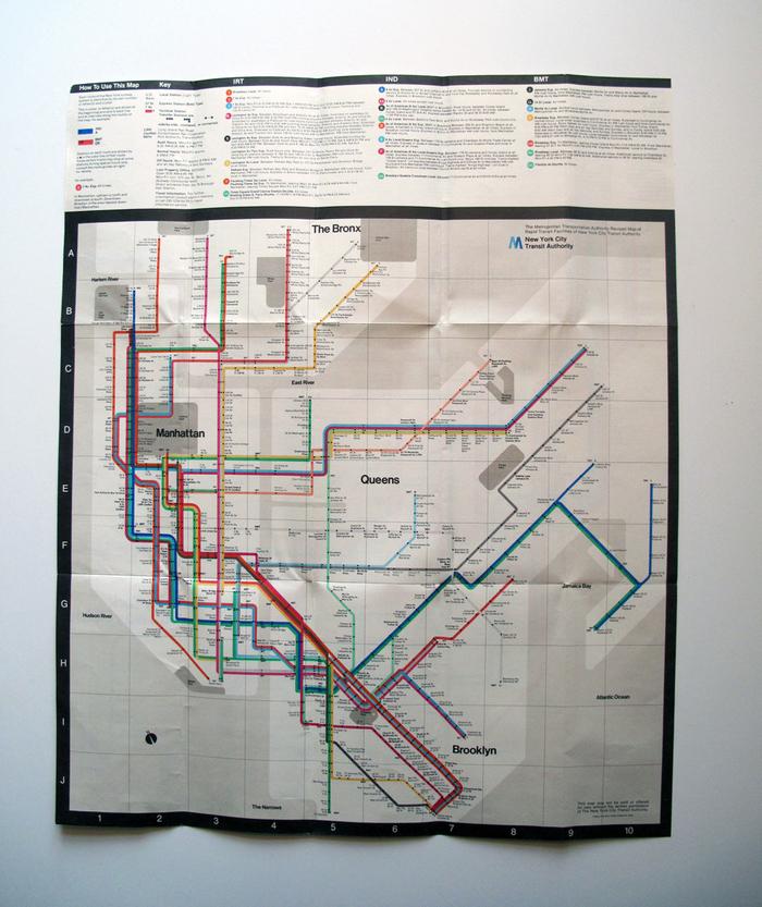 New York Subway Guide, 1976 4