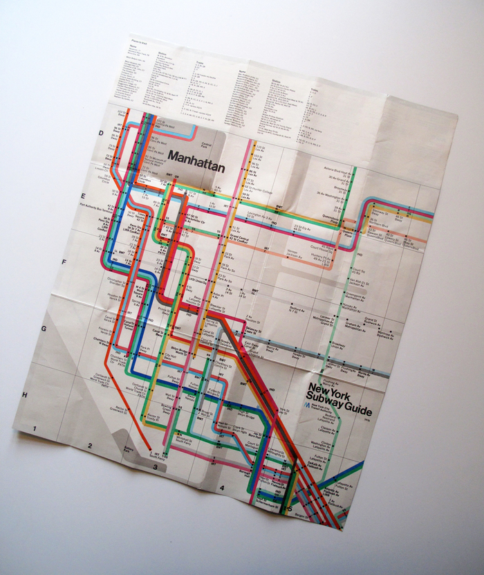 New York Subway Guide, 1976 5