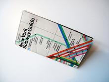 New York Subway Guide, 1976