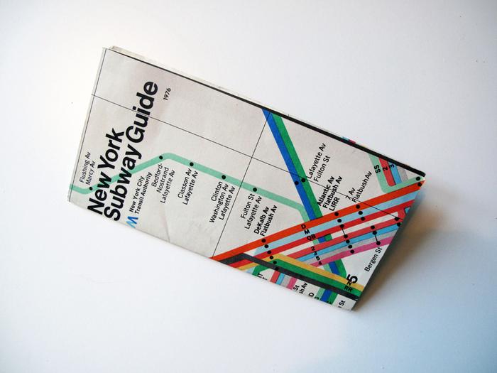 New York Subway Guide, 1976 6