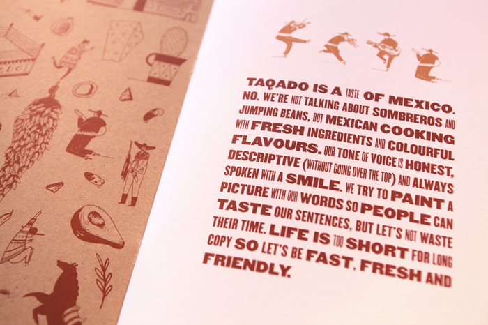 Taqdo - Brochure and Manifesto
