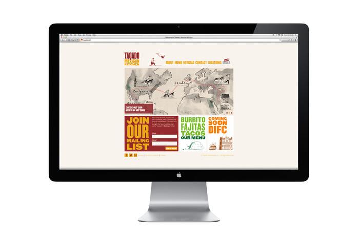 Taqado - Website