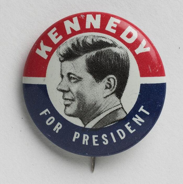 John F. Kennedy 1960 presidential campaign buttons 1