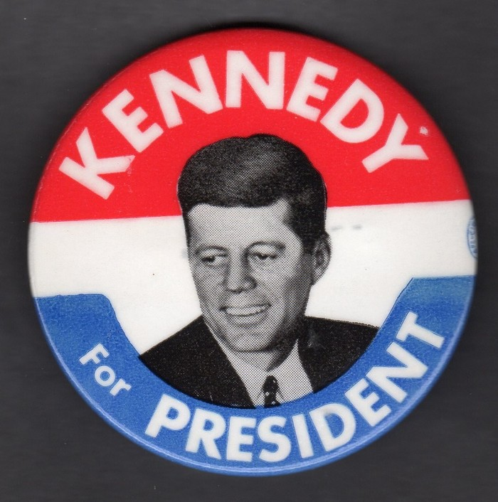 John F. Kennedy 1960 presidential campaign buttons 2