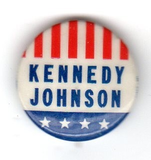 John F. Kennedy 1960 presidential campaign buttons 3