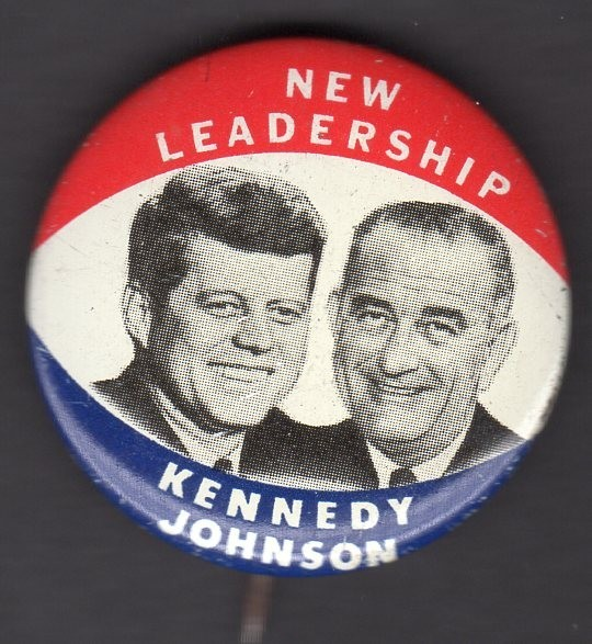John F. Kennedy 1960 presidential campaign buttons 4