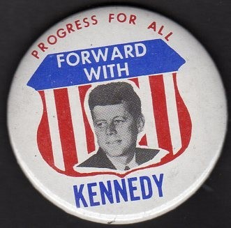 John F. Kennedy 1960 presidential campaign buttons 5