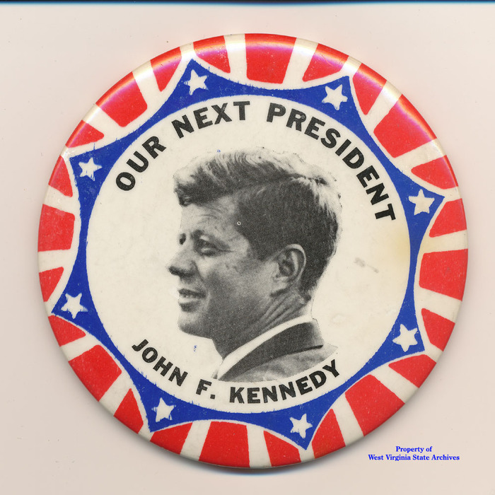 John F. Kennedy 1960 presidential campaign buttons 6