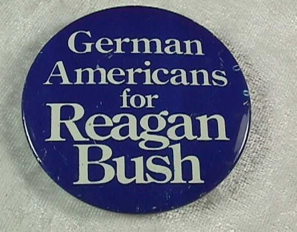 Ronald Reagan 1980 Presidential Campaign Buttons 4