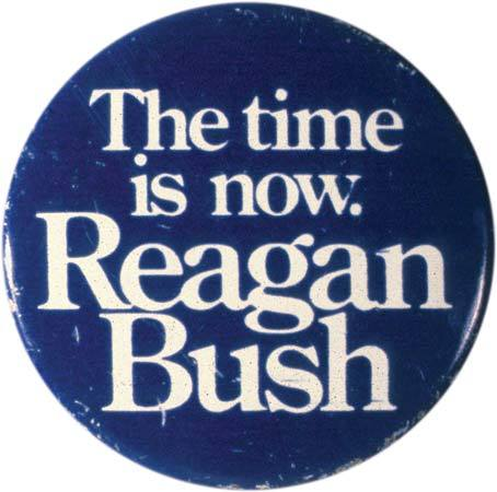 Ronald Reagan 1980 presidential campaign buttons 5