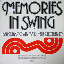 Main Stream Power Band – <cite>Memories in Swing</cite> album art
