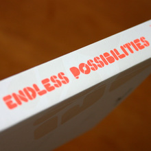 <cite>Endless Possibilities</cite> booklet