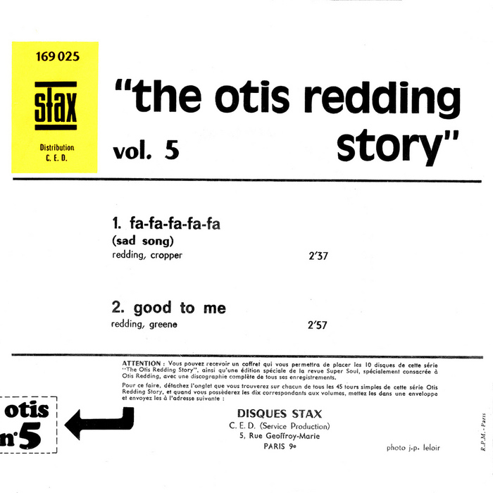 The Otis Redding Story (1968–1970) 5
