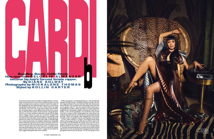 """W magazine, November 2018, """"The Art Issue"""" 6"""