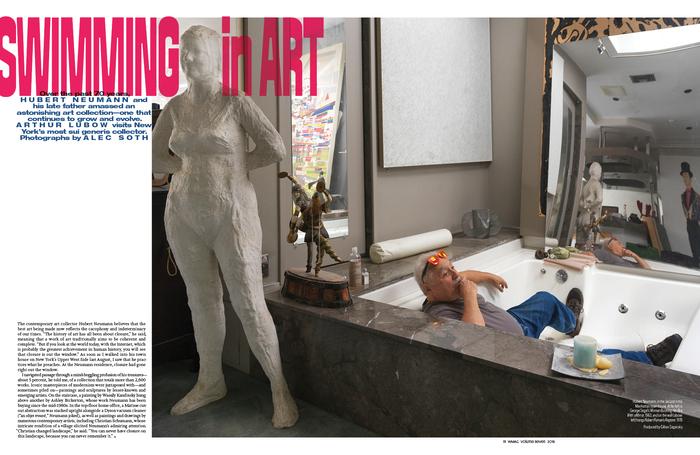 """W magazine, November 2018, """"The Art Issue"""" 10"""