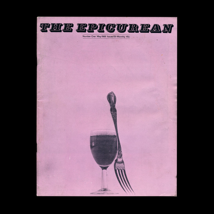 The Epicurean covers (No. 1–10, 1966–67) 1