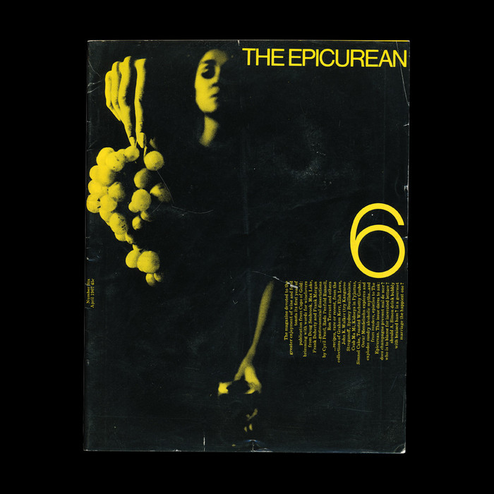 The Epicurean covers (No. 1–10, 1966–67) 6