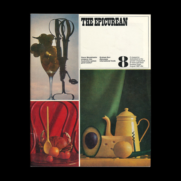 The Epicurean covers (No. 1–10, 1966–67) 8