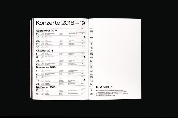 RIAS Kammerchor Saison 2018–2019 5