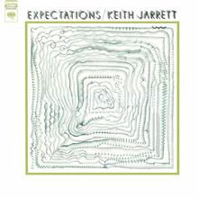 Keith Jarrett – <cite>Expectations </cite>album art