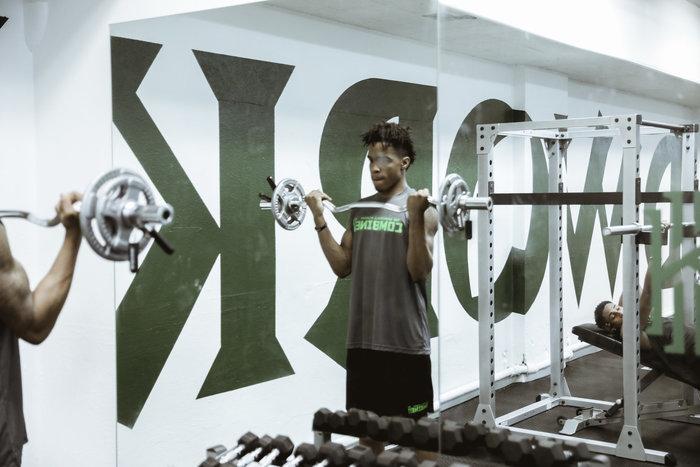 Patrick School gym renovation by Kyrie Irving & Nike 4