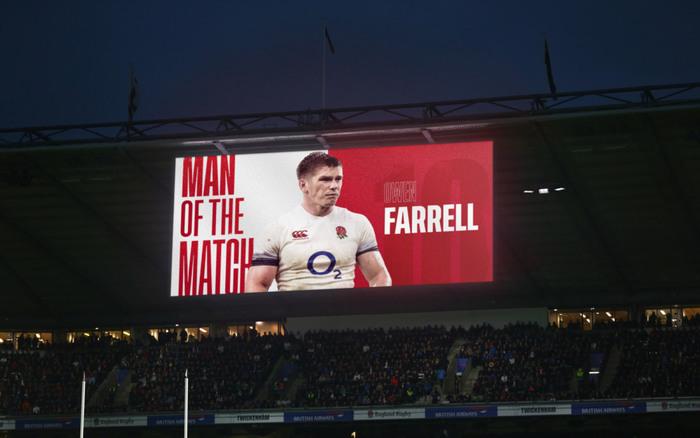 England Rugby (RFU) brand 6