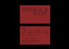 Mathilde André identity