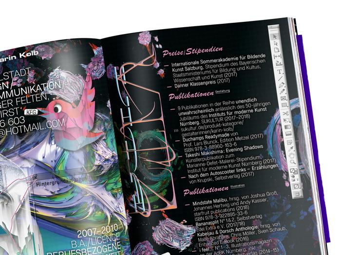 Absolvent*Innen 2018 catalog, AdBK Nürnberg 8