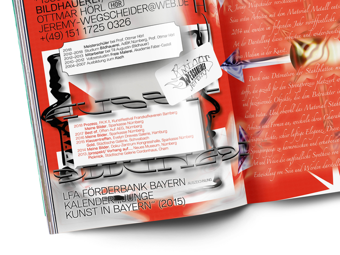 Absolvent*Innen 2018 catalog, AdBK Nürnberg 9