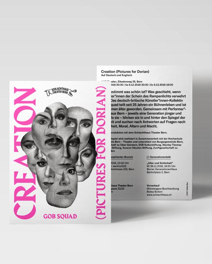 Creation (Pictures of Dorian) – Schlachthaus Theater Bern 1