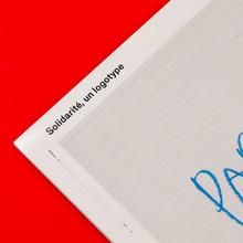 <cite>Solidarité, un logotype</cite>